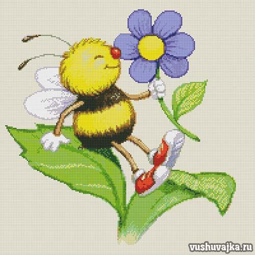 "Вышивка ""Пчелка"""