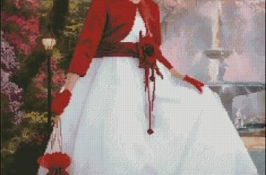 Схема вышивки по фото