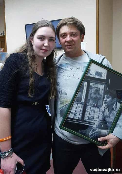 Дмитрий Брекоткин. Вышивка по фото