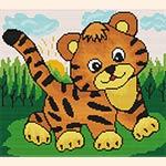 Вышивка крестом тигра для начинающих